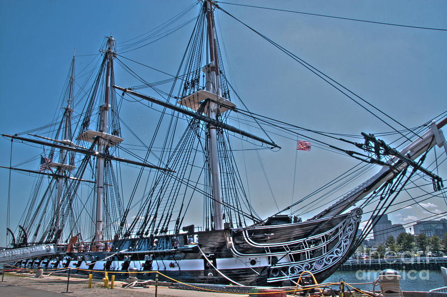 Ship Photograph - U.s.s. Constitution by Jonathan Harper