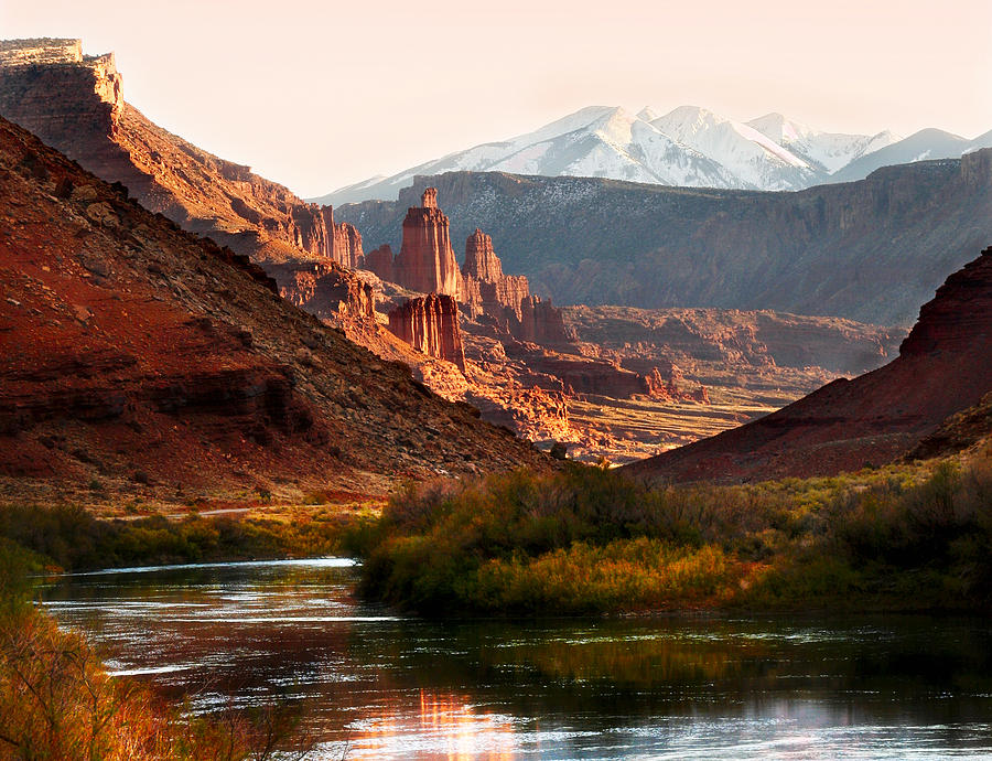 Utah Colorado River Photograph  - Utah Colorado River Fine Art Print