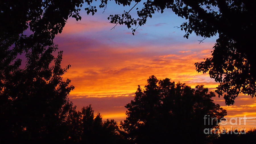 Utah Sunset Photograph