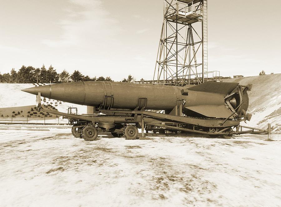 V-2 Rocket Photograph