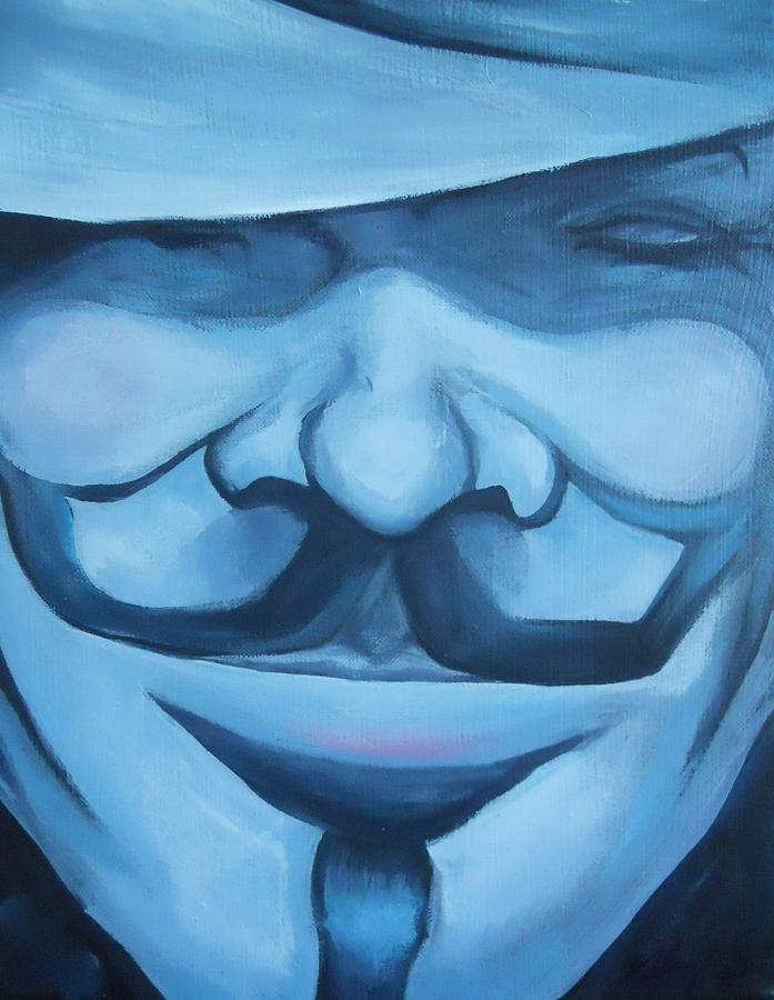 V for Vendetta speed painting