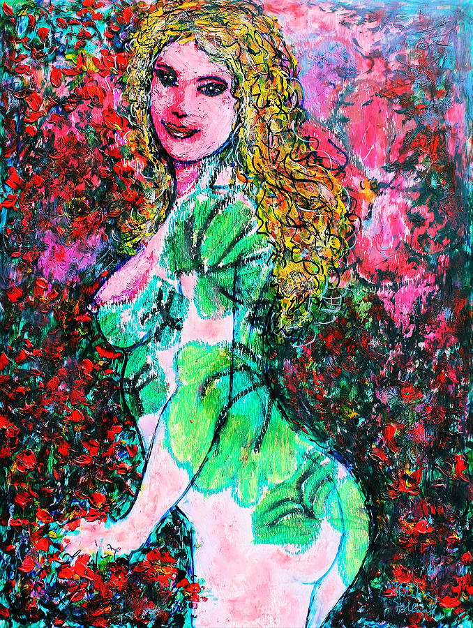 Valentina 2 Mixed Media