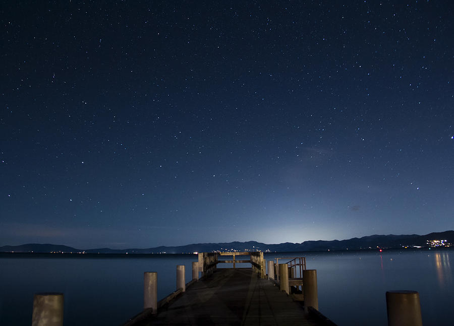 Valhalla Pier Star Gazing Photograph