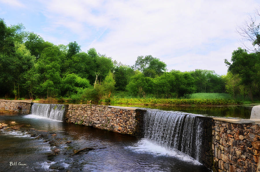 Valley Creek Waterfall - Chester County Pa Photograph