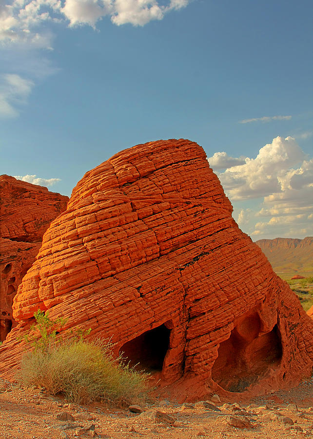 Valley Of Fire Nevada - Beehives Photograph