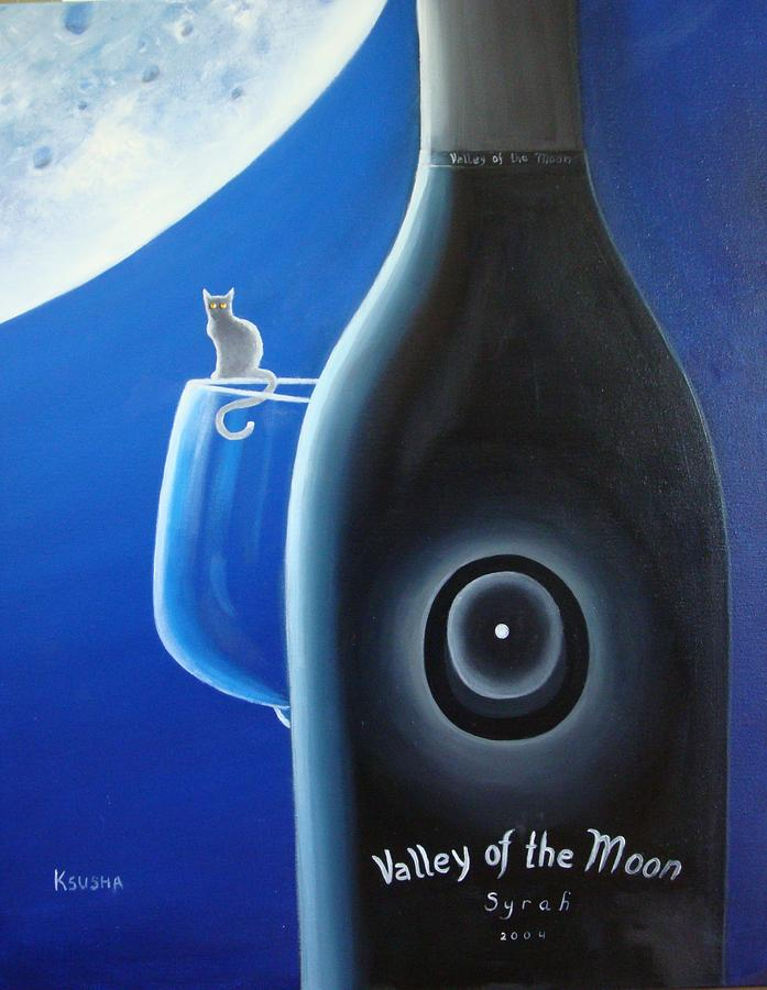 Valley Of The Moon Painting