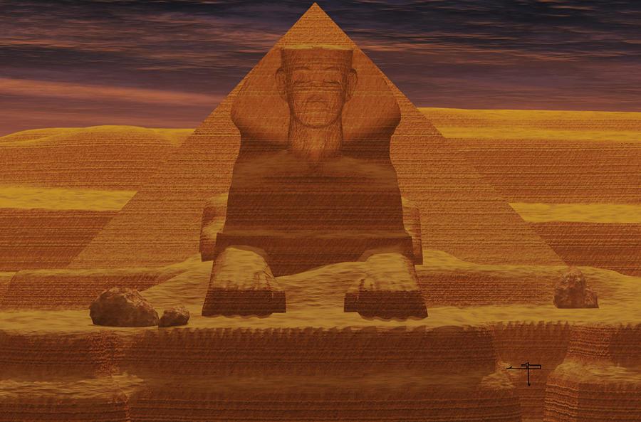 Valley Of The Sands Digital Art