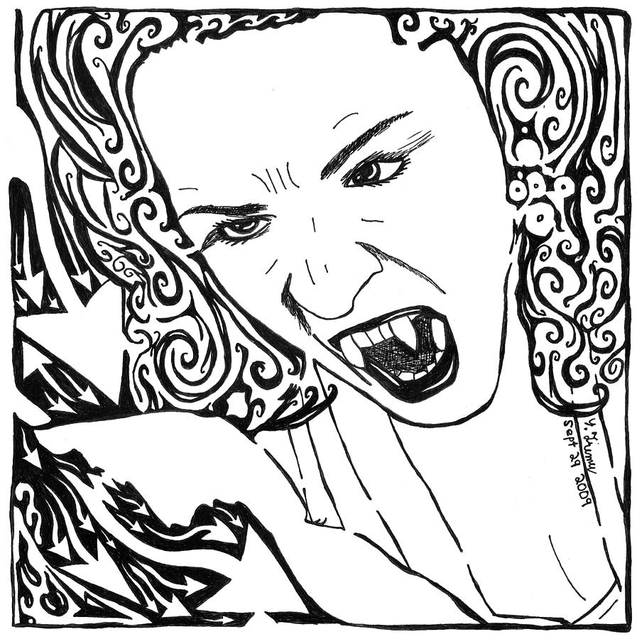 True Blood Free Coloring Pages