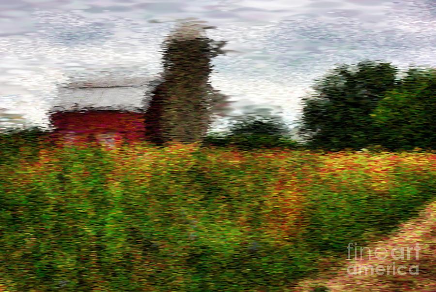 Van Gogh At The Barn Photograph
