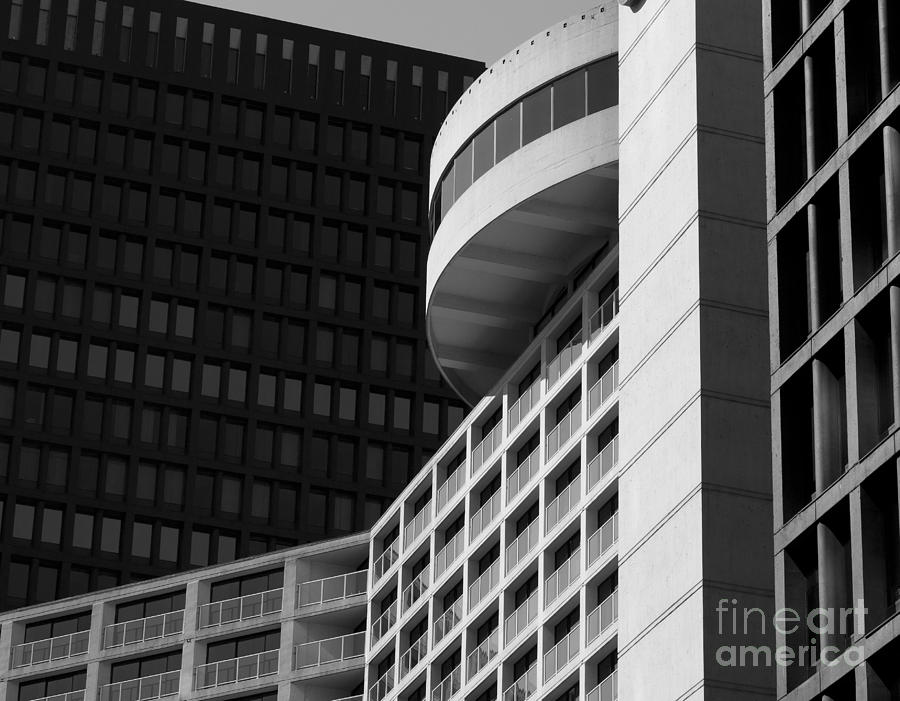 Building Photograph - Vancouver Architecture by Chris Dutton