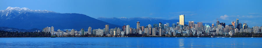 Vancouver Panorama   This Can Be Printed Very Large Photograph  - Vancouver Panorama   This Can Be Printed Very Large Fine Art Print