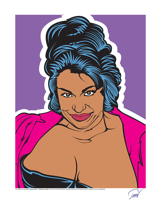 Vanessa Del Rio - Queen Of Harlem I Digital Art