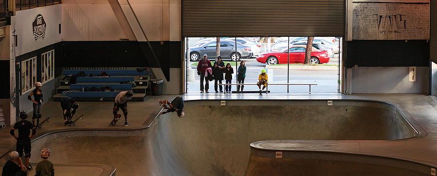 Vans Skatepark Photograph