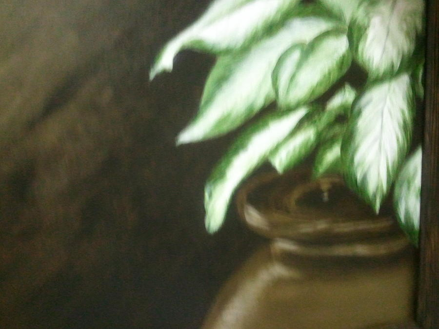 Foliage Painting - Variagated by Carol Northington