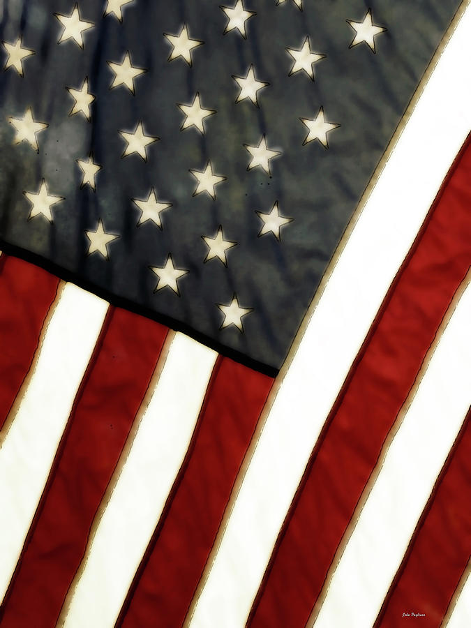 Variations On Old Glory No.4 Photograph  - Variations On Old Glory No.4 Fine Art Print