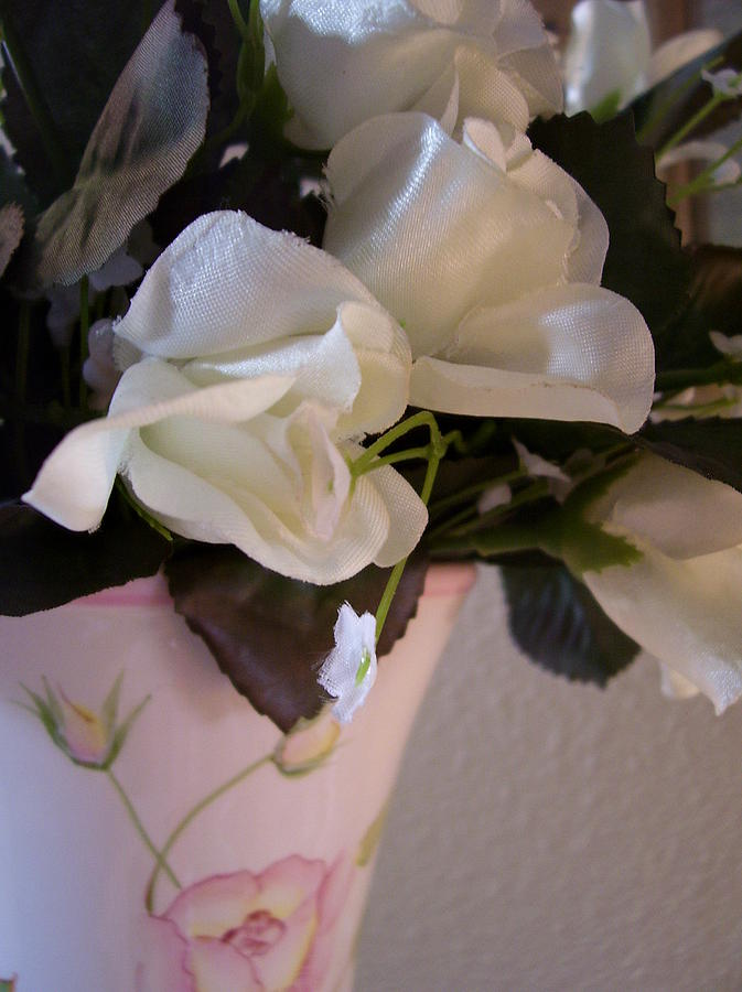 Vase Of Roses Photograph