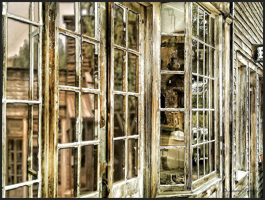 Vc Window Reflection Photograph