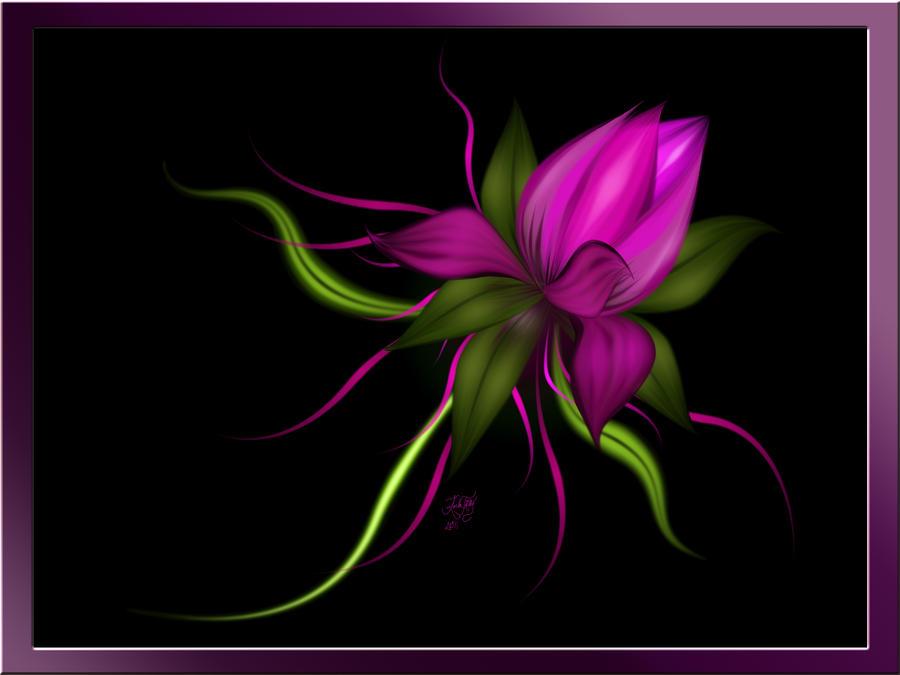 flower digital art - photo #24