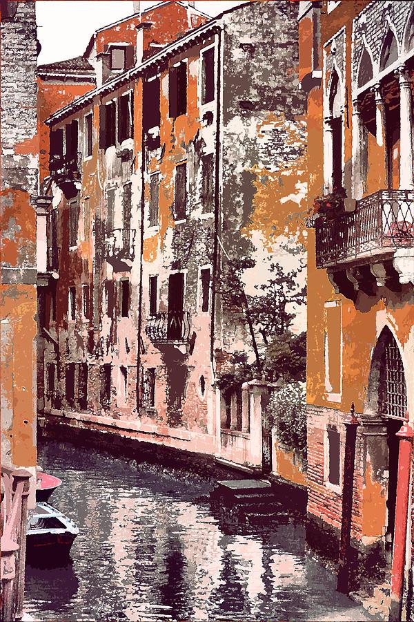 Digital Photograph - Venetian Serenity by Greg Sharpe