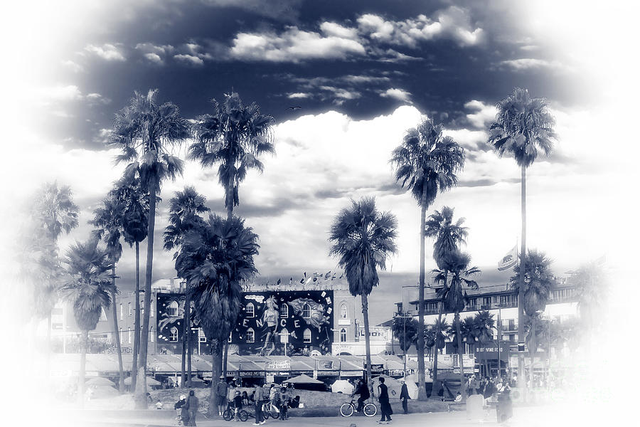 Venice Beach Haze Photograph