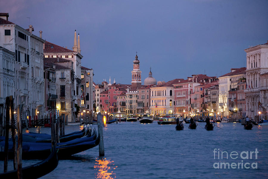 Venice Blue Hour 2 Photograph