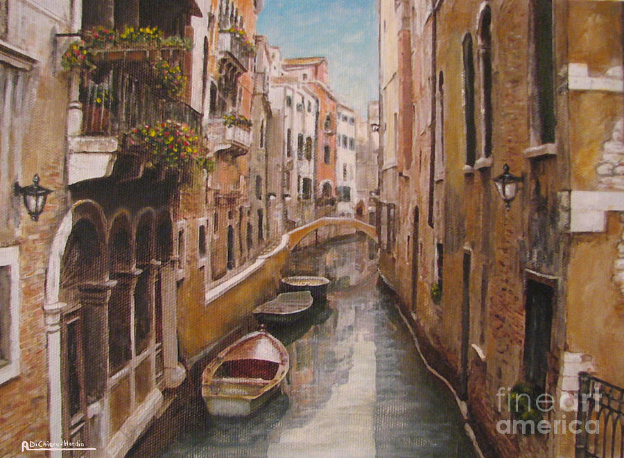 Venice-canale Veneziano Painting