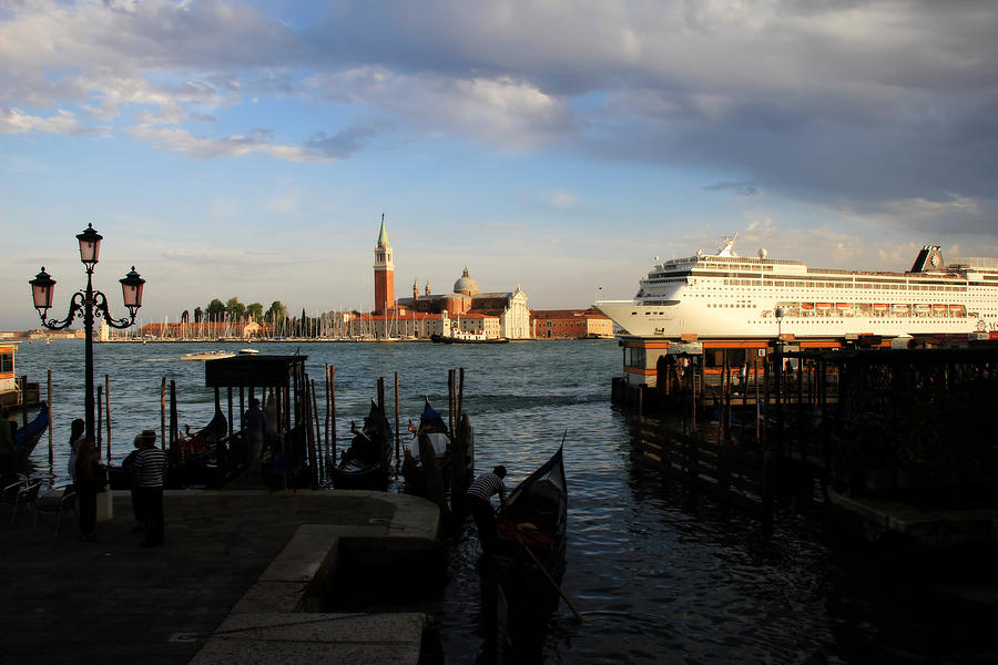 Venice Cruise Ship Photograph