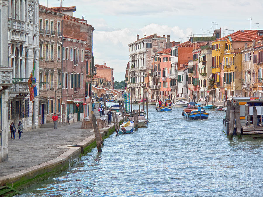 Venice In Pastel  Photograph