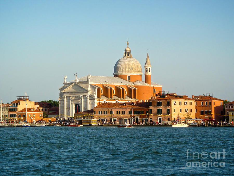 Venice Italy - San Giorgio Maggiore Island Photograph