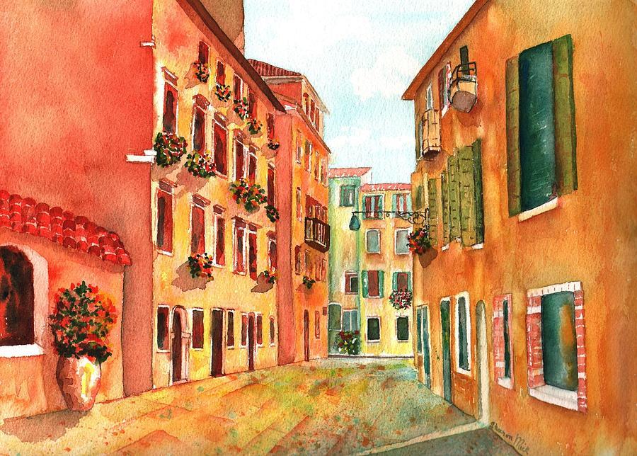 Venice Italy Street Painting