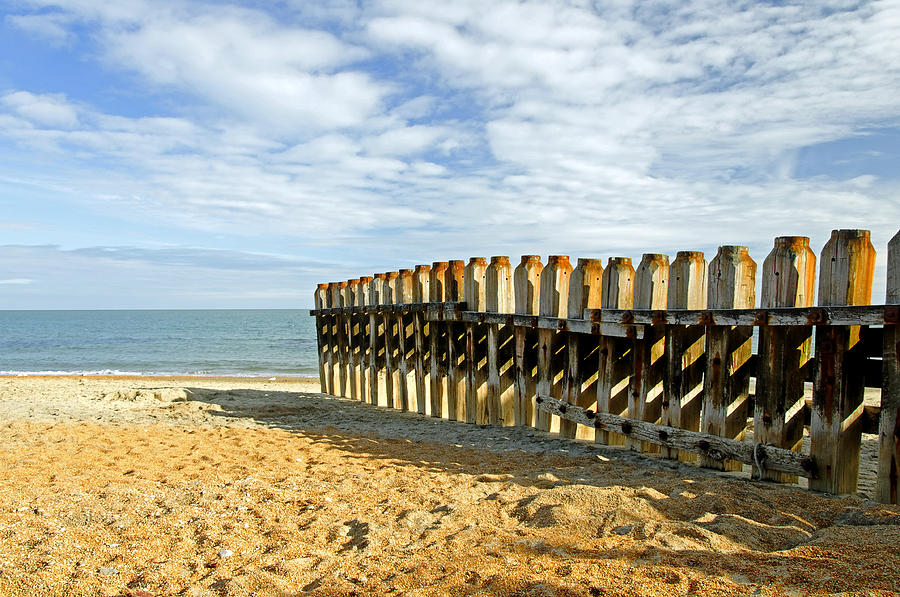 Ventnor Beach Groyne Photograph