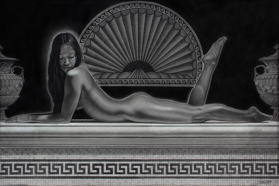Venus Drawing  - Venus Fine Art Print