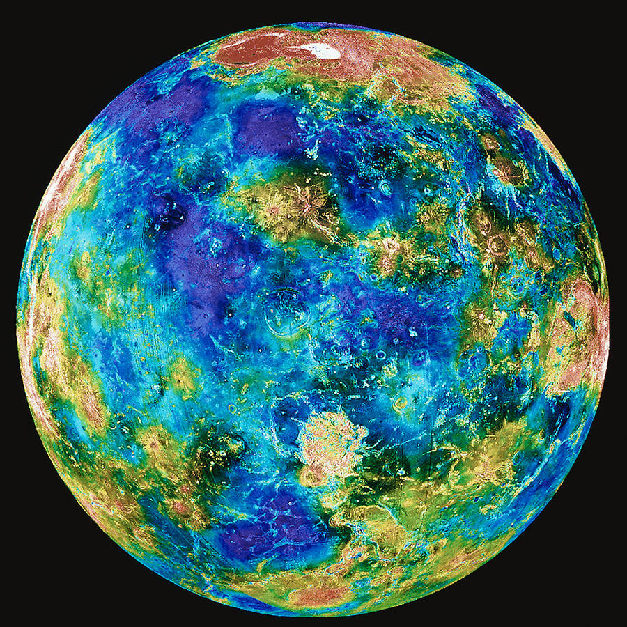 Planet Mars Color - Pics about space