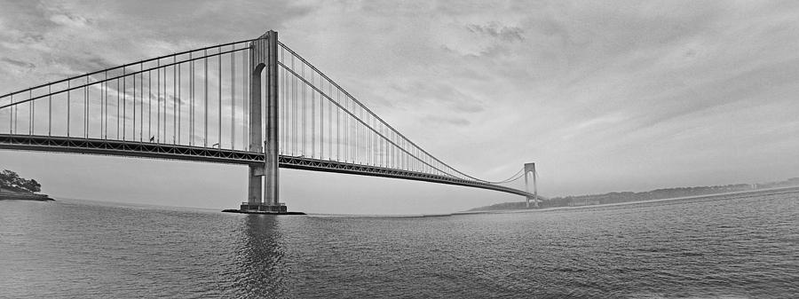 Verrazano Bridge - Small - 6 Ft Long - Panorama Photograph  - Verrazano Bridge - Small - 6 Ft Long - Panorama Fine Art Print