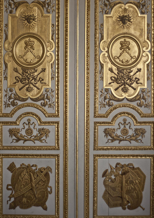 Versailles Door Photograph