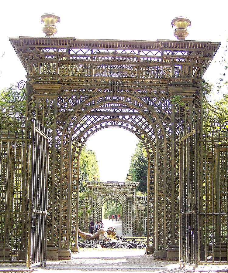 Versailles Garden Entrance Photograph