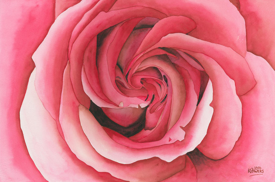 Vertigo Rose Painting