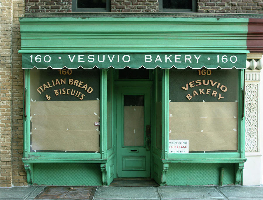 Vesuvio Bakery - New York Store Front Sculpture - Randy Hage Sculpture