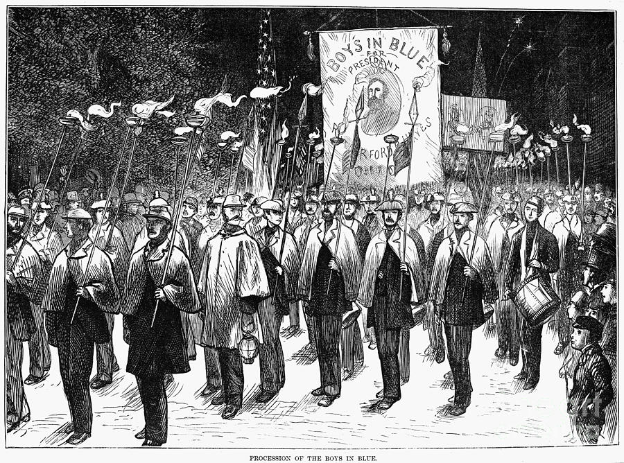 Veteran March, 1876 Photograph