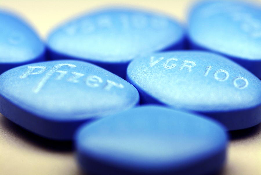 Viagra Pills Photograph