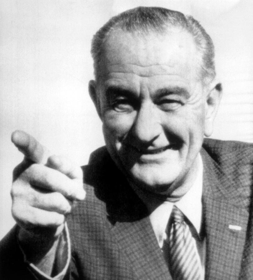 Vice President Lyndon B. Johnson Photograph