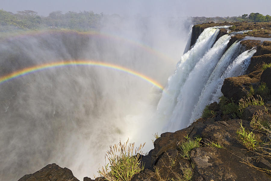 Horizontal Photograph - Victoria Falls, Zambia, Africa by Yvette Cardozo