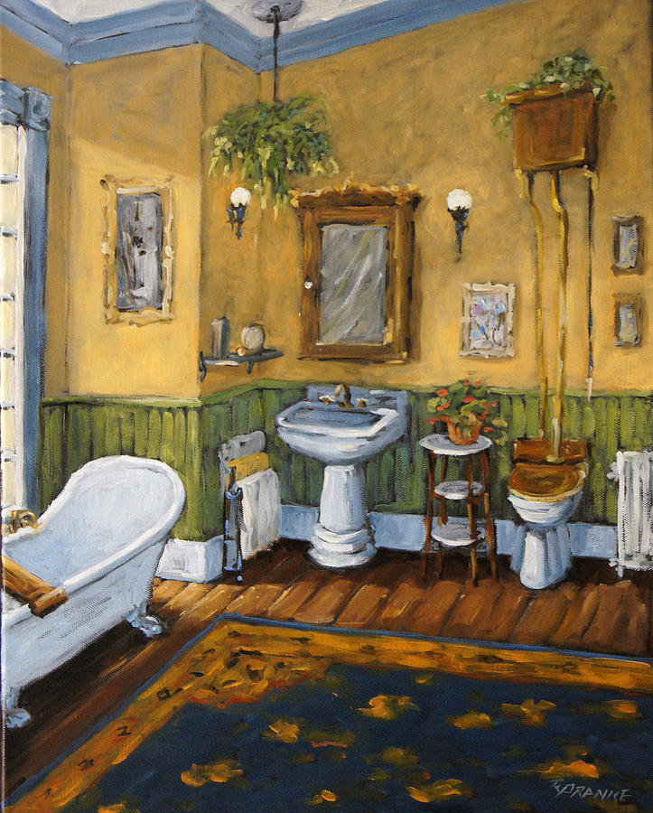 Victorian Bathroom By Prankearts Painting