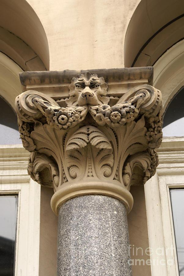 Victorian Column Saint John New Brunswick Photograph By