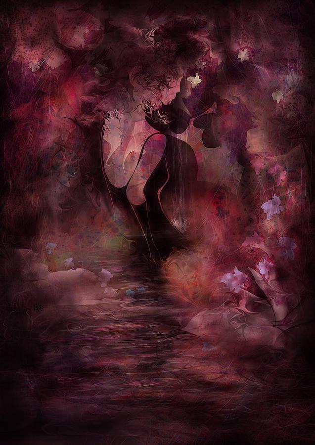 Victorian Dreams Digital Art  - Victorian Dreams Fine Art Print