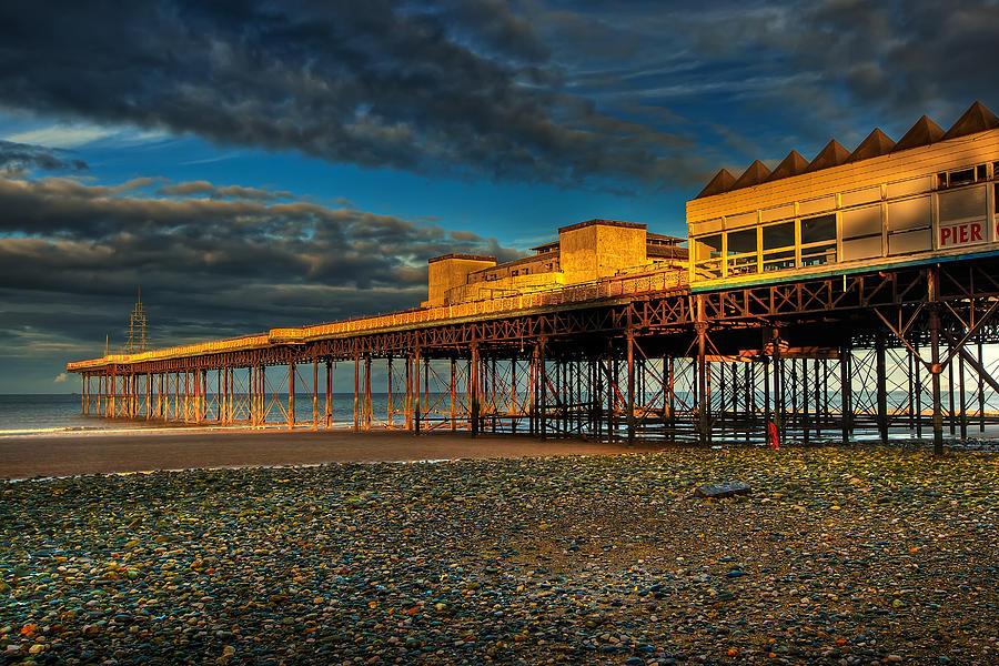 Beach Photograph - Victorian Pier by Adrian Evans