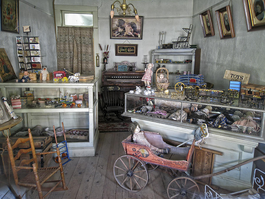 Victorian Toy Shop - Virginia City Montana Photograph