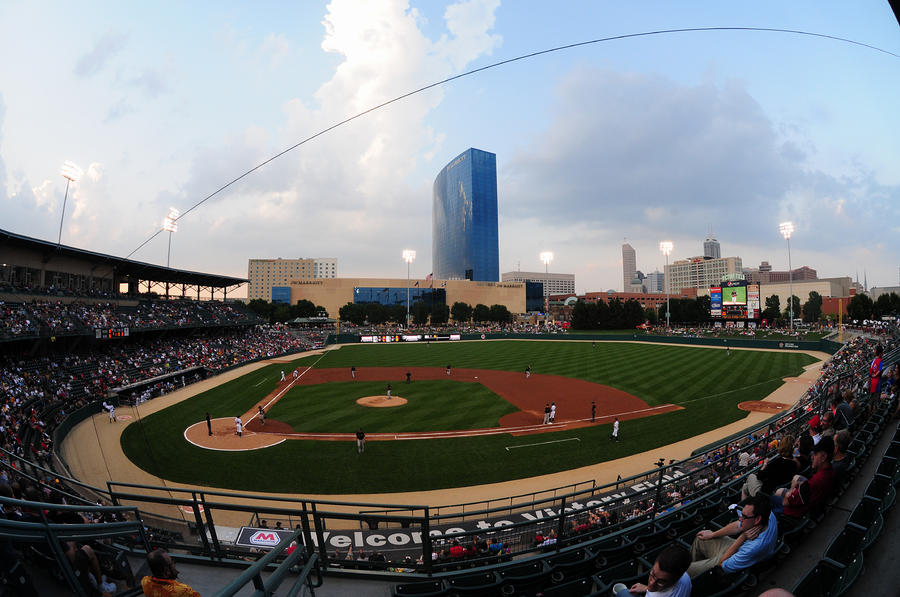 Victory Field Home Of The Indianapolis Indians Photograph  - Victory Field Home Of The Indianapolis Indians Fine Art Print