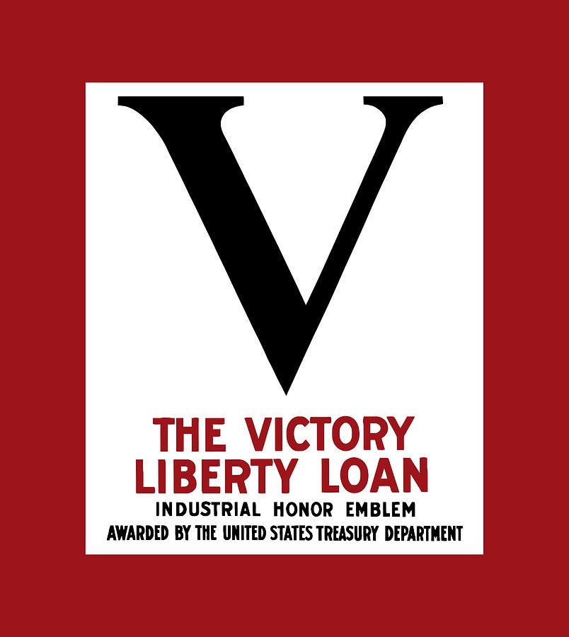 Victory Liberty Loan Industrial Honor Emblem Digital Art
