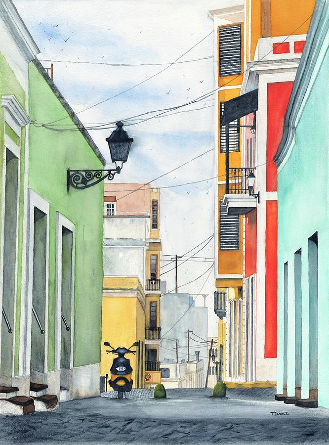 Viejo San Juan Painting